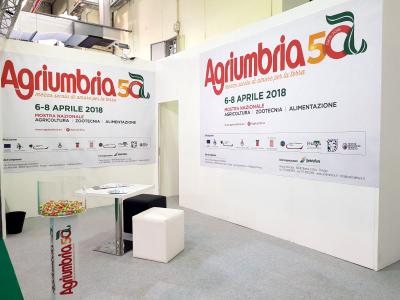 Stand Agriumbria 2018 ad Agrilevante 2017 - Bari