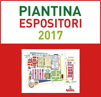 pianta espositori agriumbria 2017
